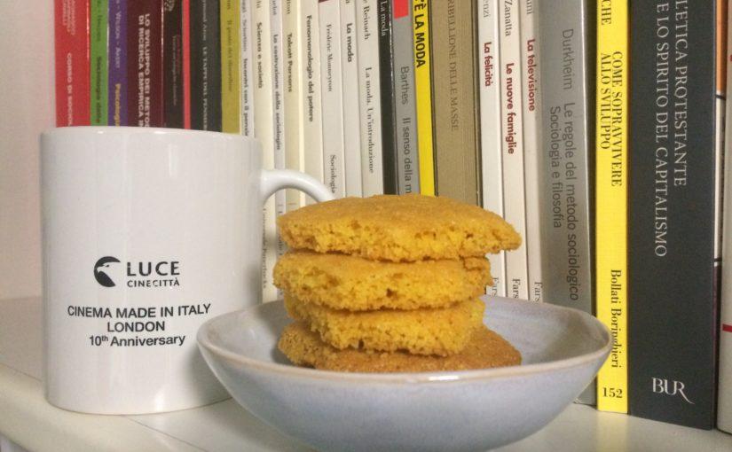 biscotti di mais dorati e friabili gluten free